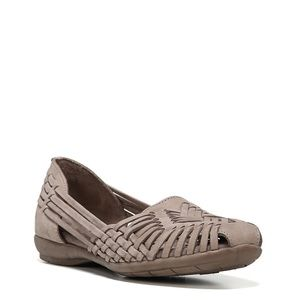 NEW Natural Soul Woven Leather Hurraches Flats